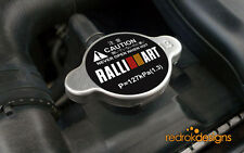 RalliArt Racing Radiator cap STICKER - JDM | Mitsubishi Lancer Evo