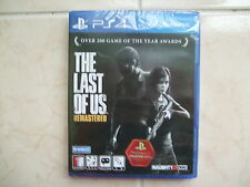 The Last of US Remastered (2016, PS4) Korean Edition / Package