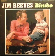 JIM REEVES - BIMBO VINYL ALBUM 1960s COUNTRY GOSPEL BLUES EX/EX