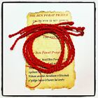 5 PCS KABBALAH RED STRING LUCKY BRACELET AGAINST EVIL EYE 9