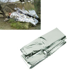 Outdoor Waterproof Emergency Survival Foil Thermal First Aid Rescue Blanket New