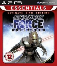 PS3 Game Star Wars: The Force Unleashed - The Ultimate Sith Edition NEW