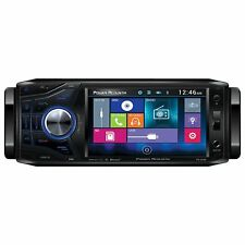 "Power Acoustik PD-454B PD454B 4.5"" LCD DVD Bluetooth Stereo Radio USB AUX In"