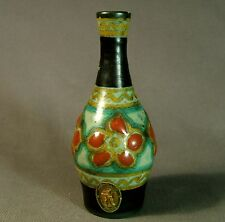 Lovely Gouda PZH hand painted Miniature bottle vase - circa 1927
