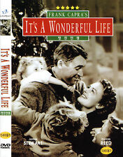 Its / It's a Wonderful Life - James Stewart Donna Reed (NEW) Lovely Classic DVD