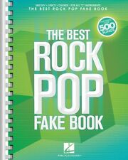 The Best Rock Pop Fake Book Sheet Music For C Instruments Real Book Fa 000240312