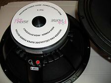"WOOFER PROFESSIONAL 390 mm 15"" 1200 Wmax 8 OHM  CELLULOSA SOSP. TELA DOPPIA ONDA"