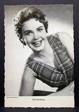 Erika Remberg - Movie Photo Film - Autogramm-Karte AK (Lot-G-7966)