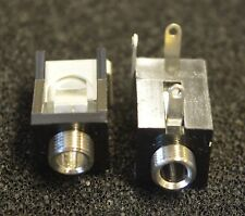 2 X (2 pieces) 3.5mm jack socket PCB mount (L3199)