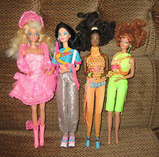 VINTAGE BARBIE AND THE ROCKERS DOLLS LOT RARE HTF 1980s ORIGINAL DOLLS