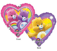 "CARE BEARS Carebears 17"" Mylar BALLOON Birthday Party Supplies Decorations"