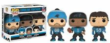 Funko Pop NFL Football  CAROLINA PANTHERS GTS EXCLUSIVE 3-PACK