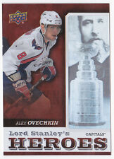 13-14 Upper Deck Alex Ovechkin Lord Stanley's Heroes Capitals 2013