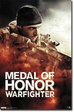 VIDEO GAME POSTER Medal of Honor Warfighter Key Art