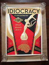 Mondo x OBEY x Shepard Fairey - Idiocracy 2016 We the People Screen Print - S/N
