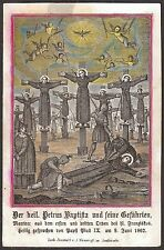 Twenty-six Martyrs of Japan St. Paul Miki James Kisai Juan Soan de Goto 19th