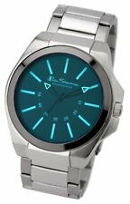 Ben Sherman Men's Watch Blue Dial Analogue   Silver Bracelet BS040