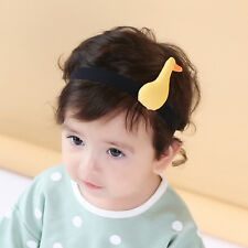 3-36 Month Old Cute Yellow Duck Baby Toddler Kids Headband Kids Hair Accessories