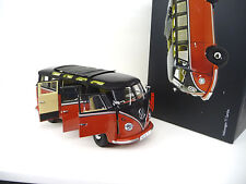1:18 Schuco VW Volkswagen T1 Samba Bus red / black FREE SHIPPING WORLDWIDE