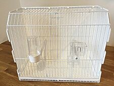 LARGE PLASTIC CARRY TRANSPORT BOX /CAGE FINCHES, CANARY, BUDGIE, SMALL BIRDS