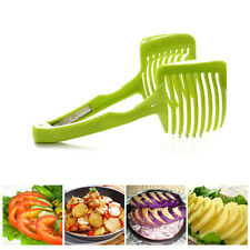 Fruits Slicer Cutter Clip Tools Perfect Slicer Tomato Potato Onion Shredders 1X