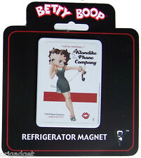 MAGNET BETTY BOOP PHONE COMPANY STEEL REFRIGERATOR MAGNET BM2