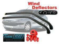 Peugeot 206 1998-2006 3 Doors Wind Deflector 2 pcs HEKO (26115)