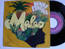 "KENNY CRIOLA : malao / mam'zelle soleil - 7"" SP MOTORS MT 4086 France 1976"
