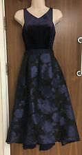 Coast Audrena Velvet High Low Dress Sizes UK 6, 18 RRP £195