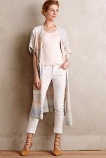 Anthropologie Knitted And Knotted Ostara Ombré Duster Vest Cardigan Boho Fall