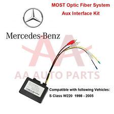 Mercedes Benz S W220 Class MOST Aux Interface Kit