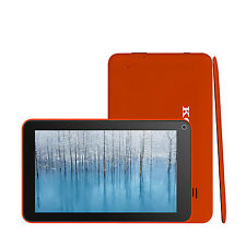 "7"" Android 4.1 Tablet PC Wi-Fi Webcam Camera 4GB Capacitive Touch 1.2GHz Orange"