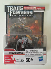 "Transformers Dark of the Moon Sideswipe 50 Piece Puzzle w/ 2"" Figure & Display"