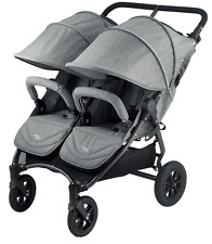 Valco 2016 NEO Twin Stroller in Grey Marle Tailormade Fabric Brand New!! Double