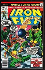 Iron Fist #11 ~ Fist / Wrecking Crew / A Fine Day's Dying! ~ 1977 (7.5) WH