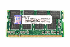 Brand Kingston 1GB DDR CL2.5 PC2700S 333MHZ 200Pin SO-DIMM For RAM Laptop Memory