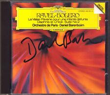 Daniel BARENBOIM Signiert RAVEL Bolero La Valse Daphnis et Chloe No.2 Pavane CD