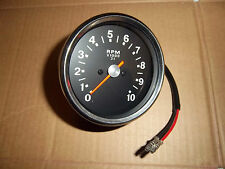 BSA A50 A65 1970-72 SMITHS REPRO TACHOMETER 3-1 RATIO BLK FACED TACHO RSM3003/14