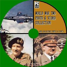 9000 + seconda guerra mondiale di immagini e video archivio COLLECTION PCDVD NUOVO WW2 MEMORABILIA