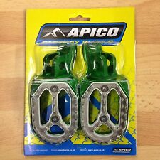KAWASAKI  KXF 450  2007-2016  APICO PRO BITE WIDE FOOTPEGS FOOT RESTS PEGS