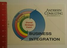 Aufkleber/Sticker: Andersen Consulting Business Integration (2008165)