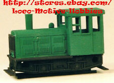 Funaro F&C 601  PLYMOUTH  Diesel YARD Switcher  Narrow Gauge HOn3  1-PIECE Shell