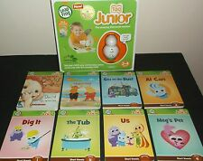 Leap Frog Tag Junior Reading System NEW!! with 8 Tag Junior Books in EUC!!