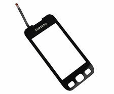 SAMSUNG S5330 PRO 533 Wave Top 2 Front Touch Screen Digitizer Pannello Nero UK