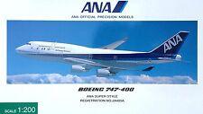 Herpa / Hogan Wings 1:200 NH20005 ANA Boeing 747-400 JA405A ANA SUPER STYLE