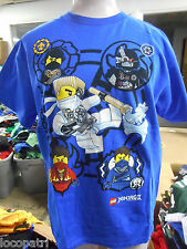 Licensed Youth Legos Ninjago Shirt New XS (4-5)