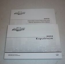 2012 CHEVROLET EQUINOX OWNERS MANUAL SET 12 GUIDE