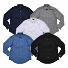 Tommy Hilfiger Mens Shirt Buttondown Custom Fit Stretch Long Sleeve Flag Casual