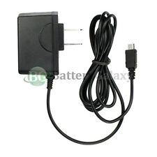 Micro USB Travel Home Wall Charger for Blackberry HTC LG Motorola Samsung Phones