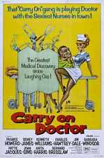 Carry On Doctor Poster 01 Metal Sign A4 12x8 Aluminium